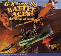 G-8 and His Battle Aces Audiobook #32 The Wings of Satan