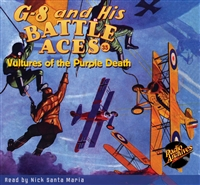 G-8 and His Battle Aces Audiobook #35 Vultures of the Purple Death