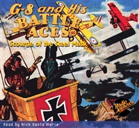 G-8 and His Battle Aces Audiobook #40 Scourge of the Steel Mask