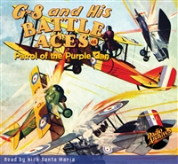 G-8 and His Battle Aces Audiobook #46 Patrol of the Purple Clan