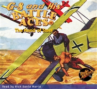 G-8 and His Battle Aces Audiobook #49 The Hand of Steel