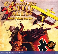 G-8 and His Battle Aces Audiobook #52 Satan Paints the Sky