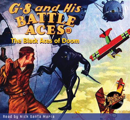 G-8 and His Battle Aces Audiobook #55 The Black Aces of Doom