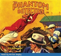 The Phantom Detective Audiobook #9 Gamblers in Death