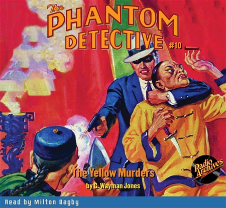 The Phantom Detective Audiobook #10 The Yellow Murders