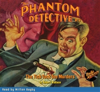 The Phantom Detective Audiobook #13 The Tick-Tack-Toe Murders