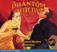 The Phantom Detective Audiobook #25 The Hollywood Murders