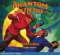 The Phantom Detective Audiobook #27 Written in Blood
