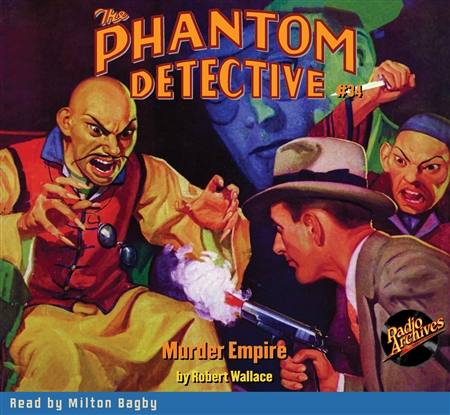 The Phantom Detective Audiobook #34 Murder Empire