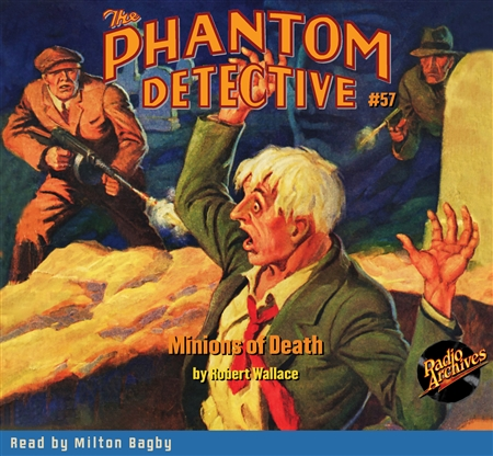 The Phantom Detective Audiobook #57 Minions of Death