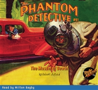 The Phantom Detective Audiobook #61 The Master of Death