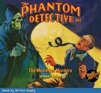 The Phantom Detective Audiobook #63 The Movie Lot Murders