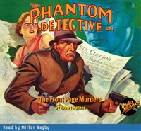The Phantom Detective Audiobook #64 The Front Page Murders