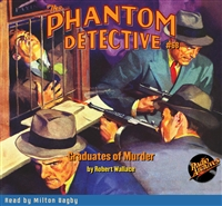 The Phantom Detective Audiobook #68 Graduates of Murder