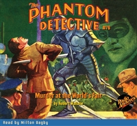 The Phantom Detective Audiobook #76 Murder at the World's Fair