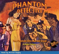 The Phantom Detective Audiobook #88 The Phantom Hits Murder Steel