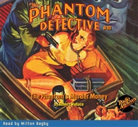 The Phantom Detective Audiobook #90 The Phantom's Murder Money