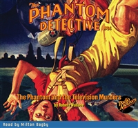 The Phantom Detective Audiobook #94 The Phantom and the Television Murders