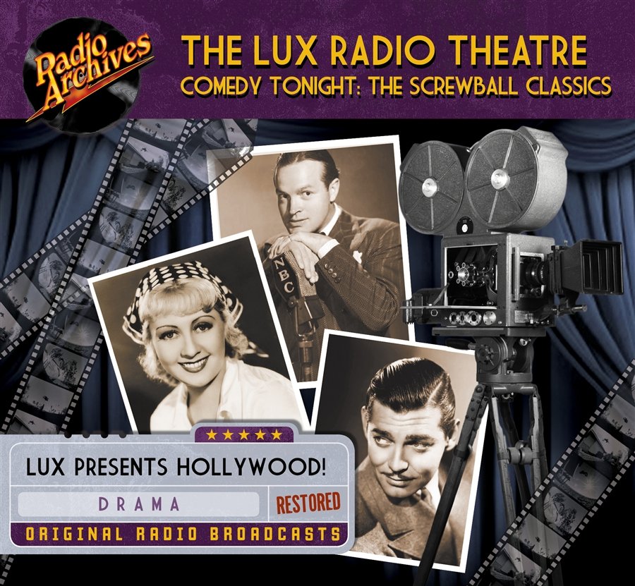 Lux Radio Theatre, Comedy Tonight: The Screwball Classics - 10 hours  [Download] #RA292D