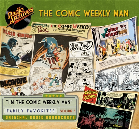 The Comic Weekly Man, Volume 3