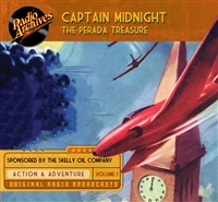 Captain Midnight, Volume 1 The Perada Treasure