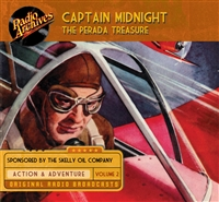 Captain Midnight, Volume 2 The Perada Treasure
