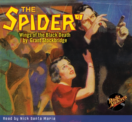 The Spider Audiobook - #  3 Wings of the Black Death