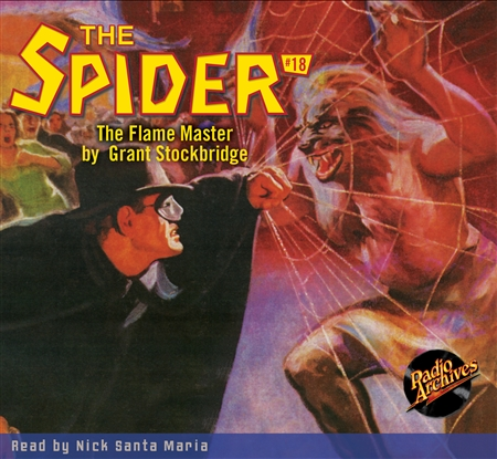 The Spider Audiobook  - # 18 The Flame Master