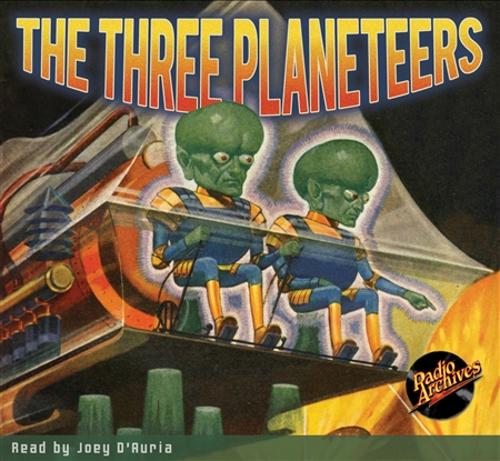 The Three Planeteers Audiobook