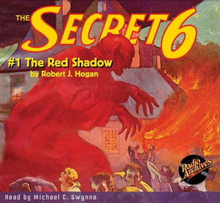 The Secret 6 Audiobook - #1 The Red Shadow
