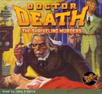 Doctor Death Audiobook - #3 The Shriveling Murders