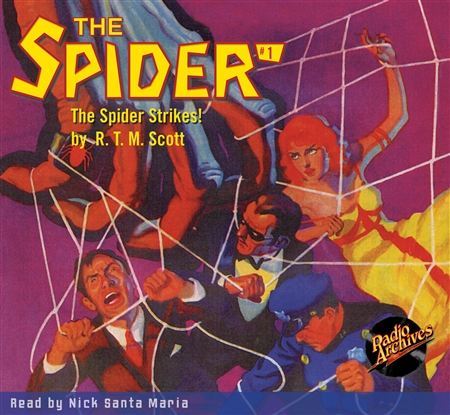 The Spider Audiobook - #  1 The Spider Strikes