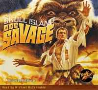 Doc Savage Audiobook - Skull Island