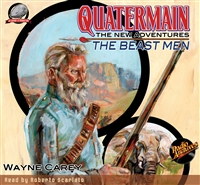 Quatermain The New Adventures - The Beast Men by Wayne Carey