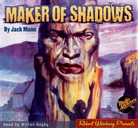 Maker of Shadows by Jack Mann Audiobook