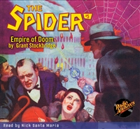 The Spider Audiobook - #  5 Empire of Doom