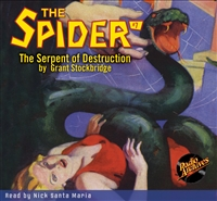 The Spider Audiobook #7 The Serpent of Destruction