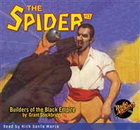 The Spider Audiobook - # 13 Builders of the Black Empire