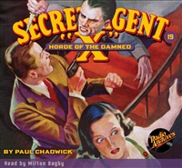 "Secret Agent ""X"" Audiobook - #19 Horde of the Damned"