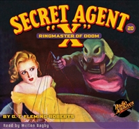 "Secret Agent ""X"" Audiobook #20 Ringmaster of Doom"
