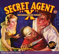 "Secret Agent ""X"" Audiobook - #23 Dividends of Doom"