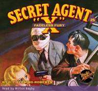 "Secret Agent ""X"" Audiobook - #25 Faceless Fury"