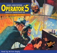 Operator #5 Audiobook - #10 The Red Invader