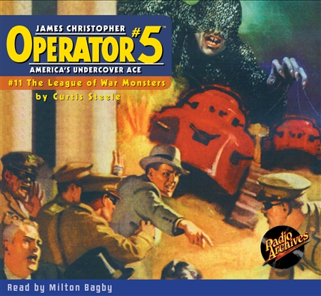 Operator #5 Audiobook - #11 The League of War Monsters