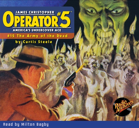 Operator #5 Audiobook - #12 The Army of the Dead