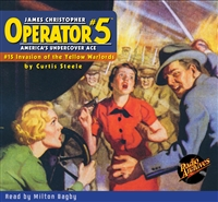 Operator #5 Audiobook - #15 Invasion of the Yellow Warlords