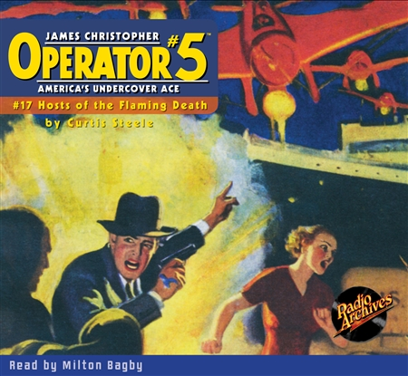 Operator #5 Audiobook - #17 Hosts of the Flaming Death