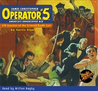 Operator #5 Audiobook - #18 Invasion of the Crimson Death Cult