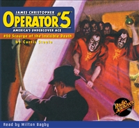 Operator #5 Audiobook #20 Scourge of the Invisible Death