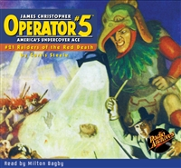 Operator #5 Audiobook - #21 Raiders of the Red Death